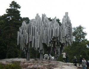 The Sibelius monument in Helsinki. I took these photos during my exchange there in 2009.